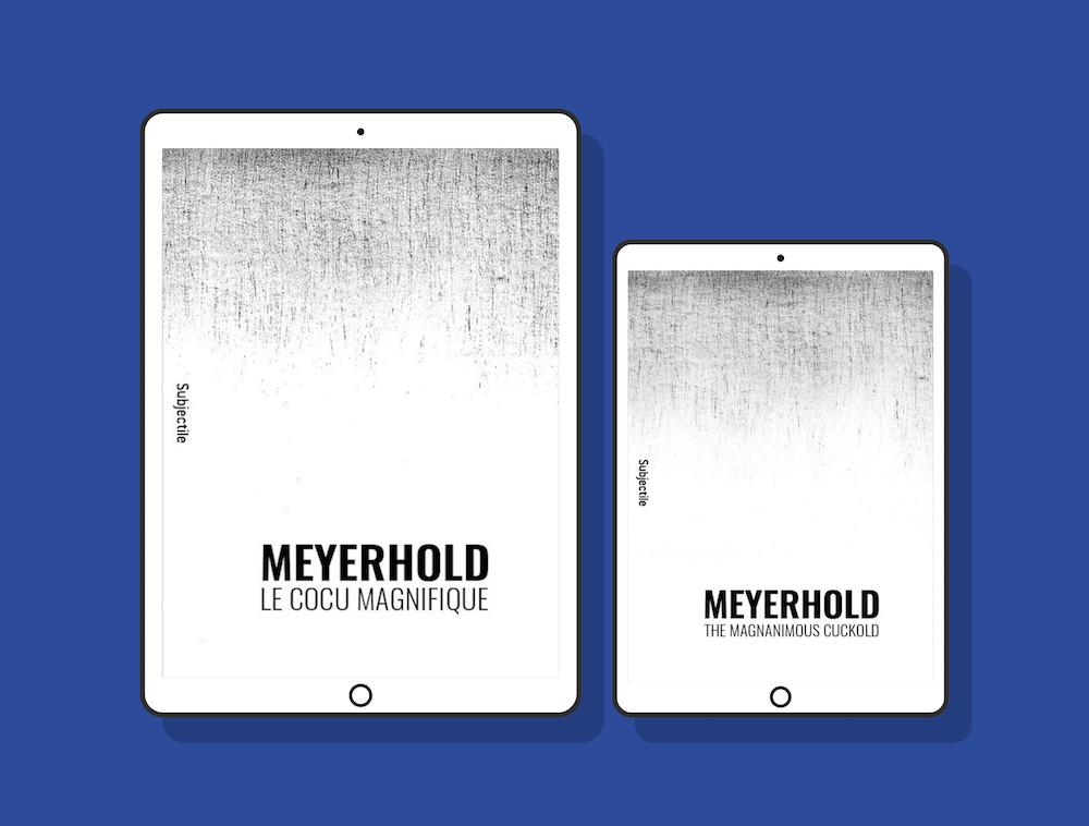 Meyerhold, Le cocu magnifique - The Magnanimous Cuckold